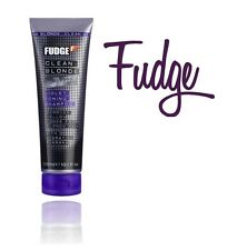 FUDGE CLEAN BLONDE VIOLET TONING PURPLE SHAMPOO 300ML
