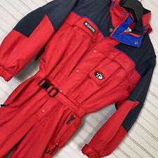 Columbia Tectonite One Piece Ski Snow Suit Insulated Stow Away Hood Youth 10/12