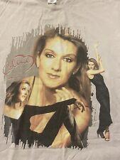 Vintage Celine Dion Lets Talk About Love Shirt 1998 XL SHIRT EUC