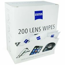 ZEISS LENS WIPES - 200 PACK - GREAT FOR CLEANING PHONE, CAMERA, GLASSES & MORE!