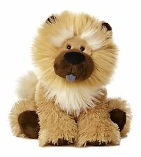 "New AURORA Stuffed Plush Toy CHOW CHOW Puppy Dog Soft Cuddle Animal 10"" WUFF"
