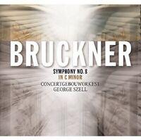 BRUCKNER: SINFONIE 8 IN C MINOR - CONCERTGEBOUW ORCHESTRA/GEORGE SZELL   CD NEW
