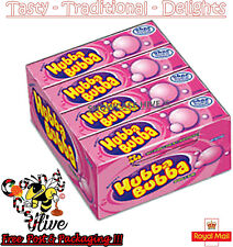 Wrigleys Hubba Bubba Bubble Gum Original 7g - Pack of 20 (5 piece per pack)
