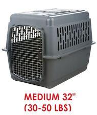 Medium Kennel Crate Pet Dog Travel Carrier Airline Approved Safe Cage