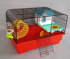 Mouse Gabbia con accessori casa RUOTA 80ml Water Bottle criceto gabbie Topi