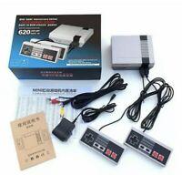 Mini Retro NES Console 620 Built-In Classic Games! Entertainment 2 Controllers