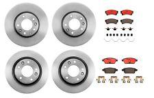 Brembo Front Rear Full Brake Kit Disc Rotors Ceramic Pads For Fusion MKZ 6 Milan