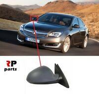 FOR VAUXHALL OPEL INSIGNIA 08-17 WING MIRROR ELECTRIC PRIMED FOLDING RIGHT LHD