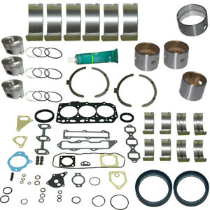 "3TNV88 Engine Overhaul Kit for Yanmar 3 Cyl. Engines with 3.46"" Bore (88 mm)"