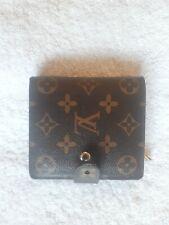 LOUIS VUITTON Compact zip Monogram wallet SP61667