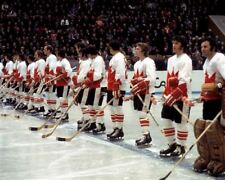 Team Canada 1972 Summit Series Starting Line Up  8x10 Photo