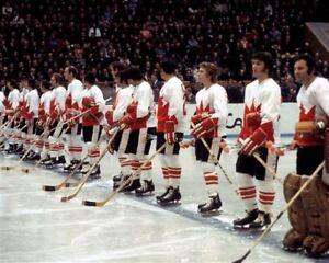 Team Canada 1972 Summit Series Starting Line Up  8x10 Photo