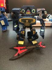 Transformers Animated Soundwave 100% Complete Black Laserbeak - w/ Instructions