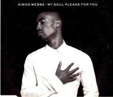 SIMON WEBBE My soul pleads for you  2 TRACK CD  NEW - NOT SEALED