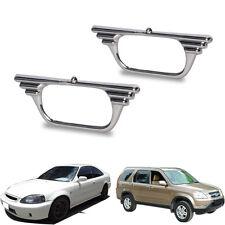 Fits Honda Civic 02-06 CR-V Wing Chrome Side Indicator Lamp Light Cover