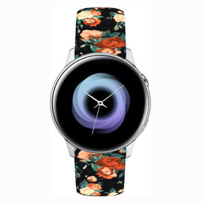For Samsung Galaxy Watch Active 2 40mm 44mm Silicone Bracelet Sports Band Straps