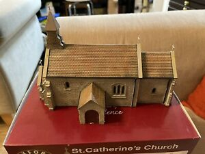 Oxford Structures ( Rail ) St. Catherine's Church OS76T001  OO Gauge Scenecraft