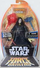 "Star Wars Force Battlers 8"" DARTH SIDIOUS EMPEROR PALPATINE New lightsaber  2005"
