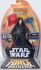 "Star Wars Force Battlers 8"" DARTH SIDIOUS EMPEROR PALPATINE New lightsaber  2005"