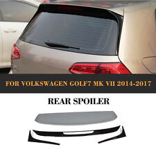 Rear Roof Spoiler Wing Lips R style Fit for Volkswagen Golf VII 7 MK7 Non GTI R