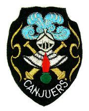 Ecusson brodé militaire ♦ (patch/crest embroidered) ♦ CAMP DE TIR CANJUERS