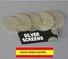 PIPAS DE FUMAR FILTROS DE ACERO INOXIDABLE 5 PIEZAS TABACO METALIC PIPE FILTER