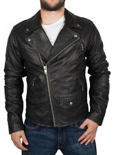 Leather SCHOTT Coats & Jackets for Men