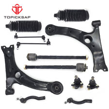 For 2003-2008 Toyota Corolla Front Lower Control Arm Ball Joint TieRod Sway Link