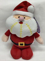 "Collectible 12"" Holiday Plush SANTA CLAUS Stuffed Christmas Toy Decor SUGAR LOAF"