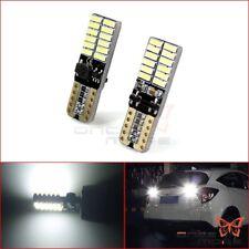 2X T10 W5W 194 168 24 SMD 4014 Strobe Flash Reading Light interior LED 158 2825