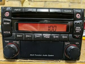 Mazda OEM Radio 2000 - 2004.  Will fit MX5, RX7 and other models