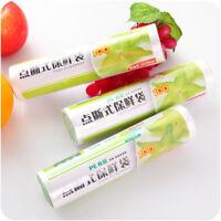 1 Roll 50x Brief Kitchen Vacuum Sealer Food Saver Storage Bag Fruit Veg Fresh~l