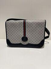 Auth Vintage Gucci Supreme GG Shoulder Bag Shoulder Bag Navy Blue