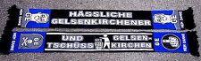 """Anti Gelsenkirchen Schal """"Und Tschüss"""" + NEU + Ultra Fan Kurve Block + ANTI GE"""