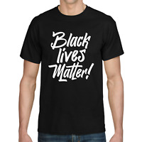 BLACK LIVES MATTER Anti Rassismus I cant breathe George Floyd Sprüche T-Shirt