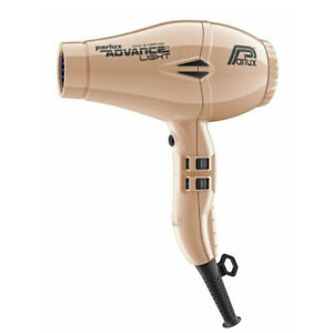 NEW, Parlux Advance Light Ceramic and Ionic Hair Dryer 2200W- Light Gold