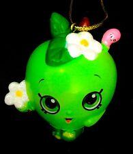 NEW! Shopkins Apple Blossom Green Season 1 Figure Full Sculpt Christmas Ornament