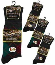 Lambswool Argyle, Diamond Multipack Socks for Men