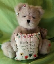 Boyds Bears Mia Goodfriends #903027 Flowers Pillow Cute Plush Stuffed Animal Tag