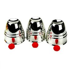 Fun Classic Magic Trick Cups And Red Balls Penetration Close-Up Street Props*