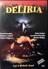 DELIRIA - Soavi DVD Brandon Cupisti Gligorov Parker Parrella Philips OOP