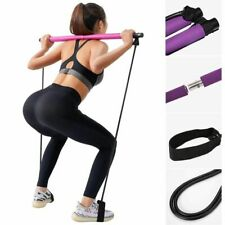 Pilates Exercise Stick Toning Bar Fitness Home Workout Body Abdominal Resistance