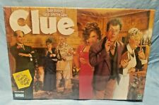 "1998 NEW Sealed ""CLUE"" Board Game Hasbro Parker Brothers classic Family game"