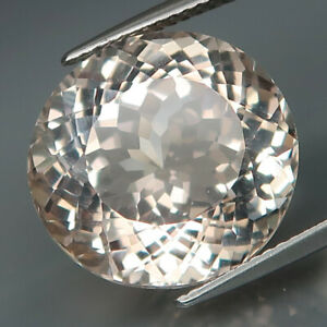 18.54Ct.100%UNTREATED Natural BIG Champagne Topaz Brazil Full Sparkling