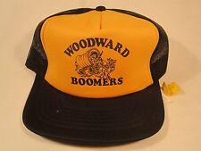 VINTAGE HAT Mens Cap WOODWARD BOOMERS (tags) Woodward, Oklahoma [Y39B5]