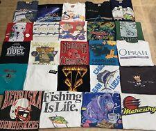 Vintage Wholesale Shirts 24 Lot Graphic 90s 00s Bundle S-XXXL + 3 Mystery Tees