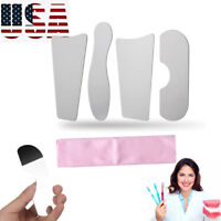 4Pcs Stainless Steel Dental Oral Orthodontic Photography Mirror Reflector-【USA】