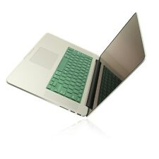 """Shimmering GREEN Keyboard Skin for NEW Macbook Pro 15"""" A1398 with Retina display"""