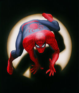 Alex Ross SIGNED Marvels: Spider-Man Giclee on Canvas Limited Edition of 100