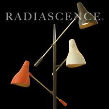 LIGHTOLIER GERALD THURSTON MODERN ATOMIC SPACE AGE TRIENNALE FLOOR SPOT LAMP 50